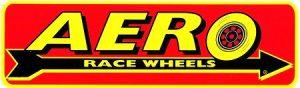 レーシングステッカー AERO WHEELS 11inch ステッカー