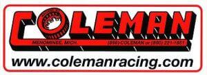 レーシングステッカー COLEMAN ステッカー