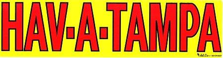 レーシングステッカー HAV-A-TAMPA ステッカー