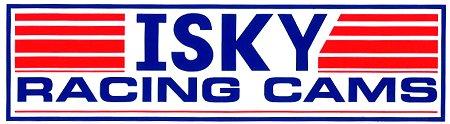 レーシングステッカー ISKY RACING CAMS (L) ステッカー