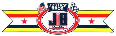 レーシングステッカー JUSTICE BROS. (L) ステッカー
