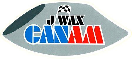 レーシングステッカー J-Wax ヴィンテージステッカー