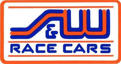 レーシングステッカー S&W ステッカー