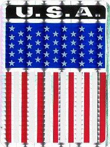 USA / Shield ステッカー
