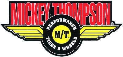 レーシングステッカー MICKEY THOMPSON (L) ステッカー