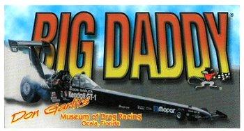 レーシングステッカー Don Garlits / BIG DADDY ステッカー