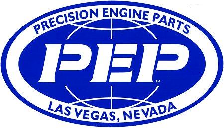 レーシングステッカー PEP / OVAL ステッカー
