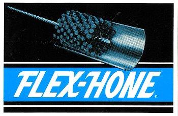 レーシングステッカー Brush / FLEX-HONE ステッカー