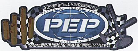 レーシングステッカー PEP (L) ステッカー