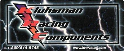 レーシングステッカー Kluhsman / KRC ステッカー