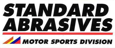 レーシングステッカー STANDARD ABRASIVES ステッカー