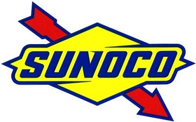レーシングステッカー SUNOCO (BIG) ステッカー