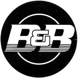 レーシングステッカー B&B ステッカー