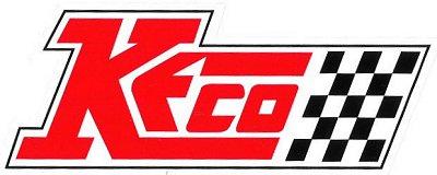レーシングステッカー KECO ステッカー