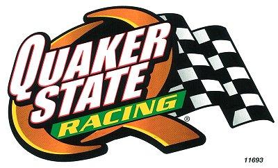 レーシングステッカー QUAKER STATE / RACING (L) ステッカー