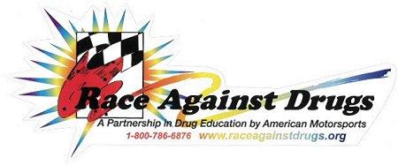 レーシングステッカー Race Against Drugs ステッカー