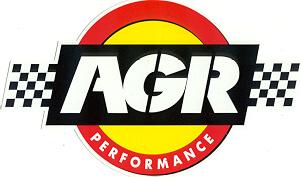 レーシングステッカー AGR (L) ステッカー
