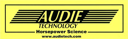 レーシングステッカー AUDIE TECHNOLOGY ステッカー