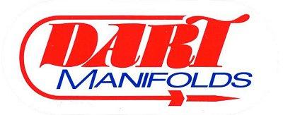 レーシングステッカー DART / MANIFOLDS ステッカー