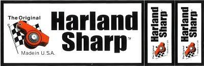 レーシングステッカー Harland Sharp (3枚セット) ステッカー
