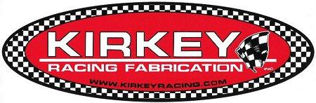 レーシングステッカー KIRKEY / Oval ステッカー