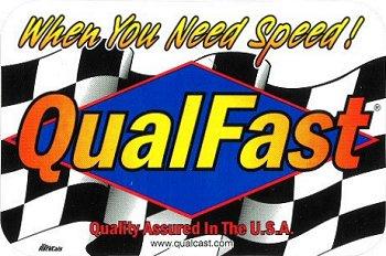 レーシングステッカー Qual Fast ステッカー