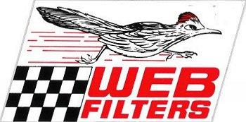 レーシングステッカー WEB FILTERS ステッカー