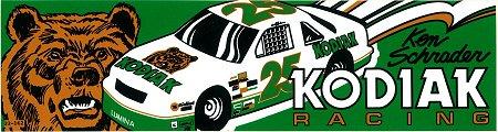 レーシングステッカー KODIAK RACING ヴィンテージステッカー