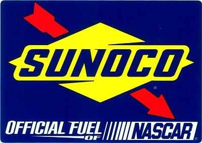 レーシングステッカー SUNOCO / NASCAR ステッカー