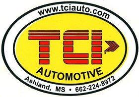 レーシングステッカー TCI / automotive ステッカー