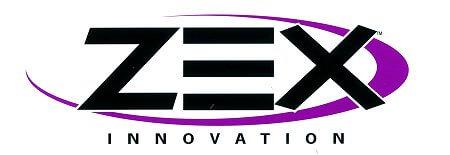 レーシングステッカー ZEX (L) ステッカー