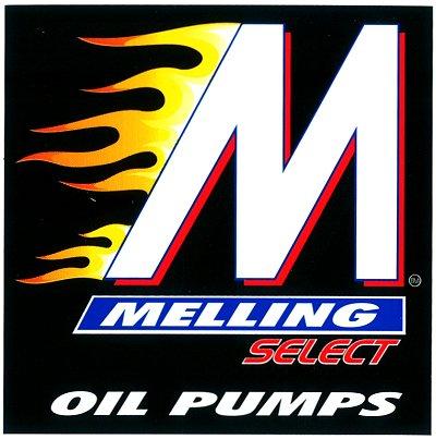 レーシングステッカー MELLING / OIL PUMPS ステッカー