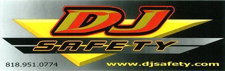 レーシングステッカー DJ / グラデーション ステッカー