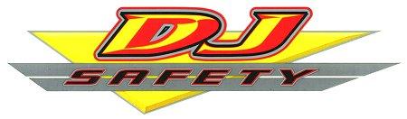 レーシングステッカー DJ / クリア ステッカー