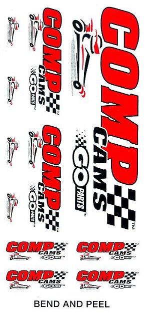 レーシングステッカー COMP CAMS / GO PARTS ステッカーセット