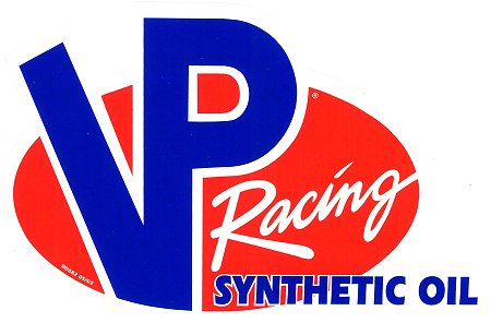 レーシングステッカー VP / SYNTHETIC OIL ステッカー