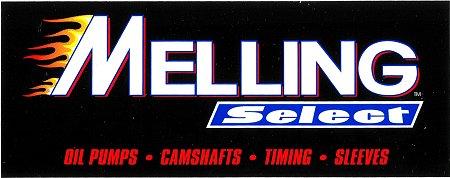 レーシングステッカー MELLING / Select ステッカー
