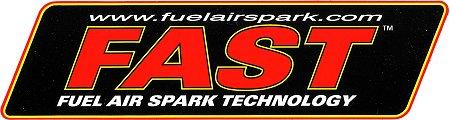 レーシングステッカー FAST ステッカー