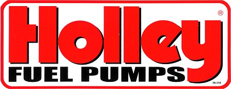 レーシングステッカー Holley / FUEL PUMPS ステッカー