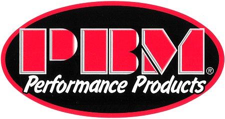 レーシングステッカー PBM / Oval ステッカー