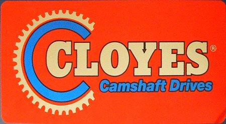 レーシングステッカー CLOYES (L) ステッカー