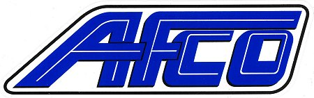 レーシングステッカー AFCO ステッカー