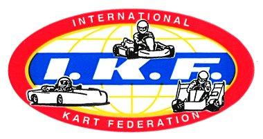 レーシングステッカー I.K.F. ステッカー