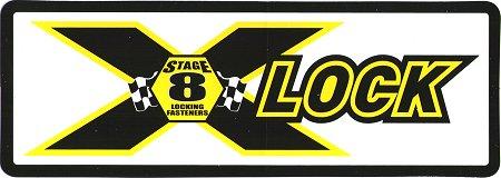 レーシングステッカー STAGE 8 / LOCK ステッカー