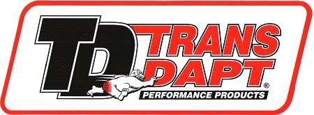 レーシングステッカー TRANS DAPT ステッカー