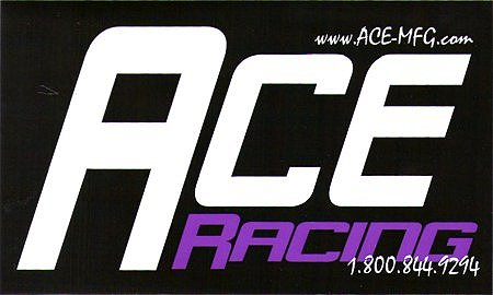 レーシングステッカー ACE-MFG ステッカー
