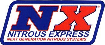レーシングステッカー NITROUS EXPRESS ステッカー