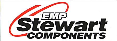 レーシングステッカー Stewart EMP ステッカー