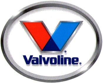レーシングステッカー Valvoline 4inch ステッカー
