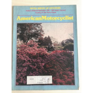 American Motorcyclist ヴィンテージ雑誌